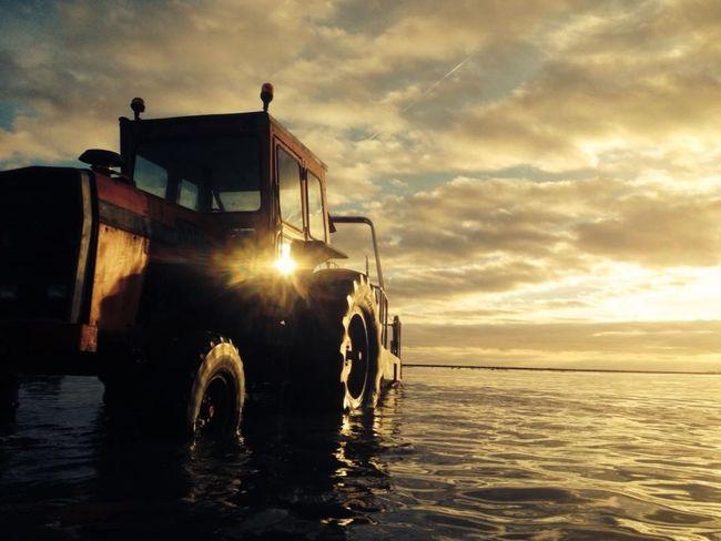 Tracteur Mer BeautéAu Calme Tractor