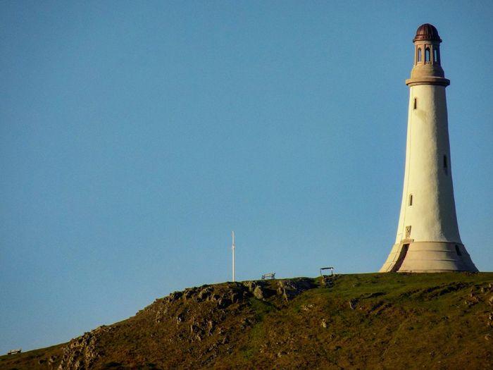 The John Barrow monument (also known as the Hoad monument), Ulverston, Cumbria Lighthouse Sky Blue No People Hoad Monument Cumbria Ulverston Monument Sir John Barrow