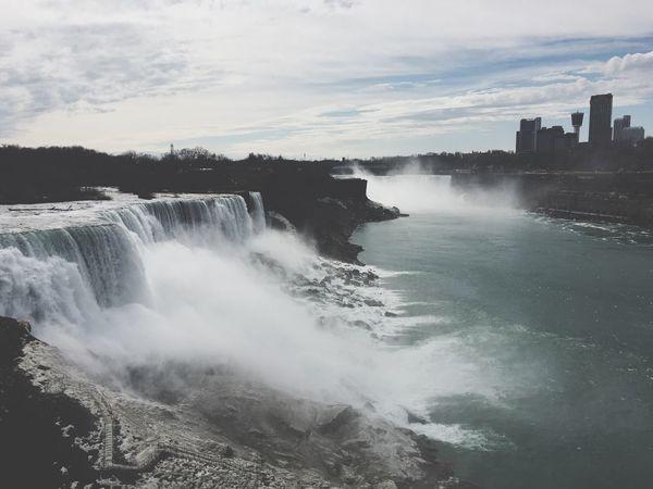ナイアガラフォールズ Nature Waterfall EyeEmNewHere