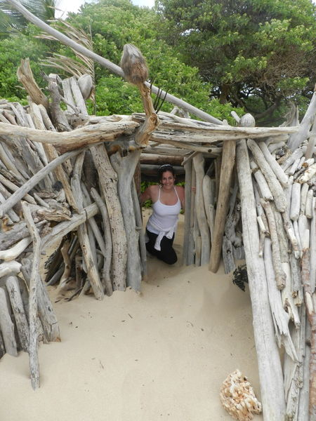 Beach Wood Structure EyeEmNewHere Kaui Casual Clothing Happiness Leisure Activity Looking At Camera Nature One Person Real People Tree Lifestyles Outdoors