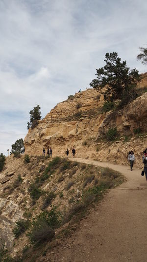Landscape Nature Nature Reserve Outdoors People Ravine Rock - Object Sky Tourism Vacations