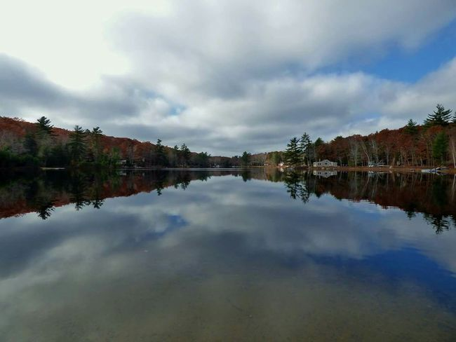 Water Reflections Fall Colors Tranquil Scene Calming Beautiful Nature Water Treereflection Mainewilderness Fall Beauty Forest Absence No People Day Maine Lake View Lake Lakeshore Nature Photography Pond Clouds And Sky Cloudreflection Mainephotography Camps