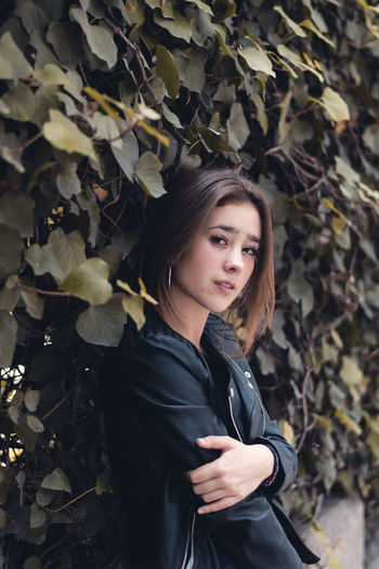 Reckoner. Autumn Beautiful Woman Beauty In Nature Branch Change Day Leaf Nature One Person Outdoors People Real People Tree Young Adult Young Women