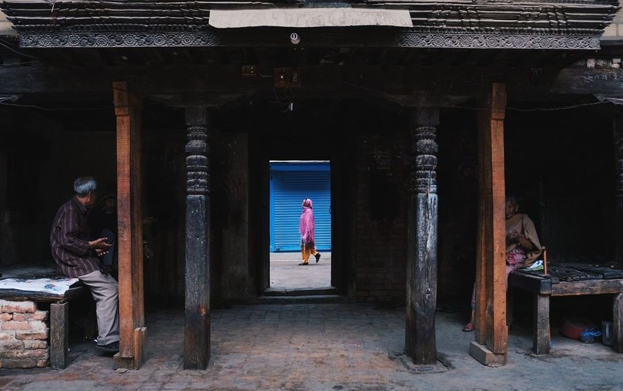 Architecture Indoors  Temple Framed View Framed Frame Within A Frame EyeEmNewHere Street Photography Street Millennial Pink The Street Photographer - 2017 EyeEm Awards BYOPaper! Investing In Quality Of Life The Week On EyeEm An Eye For Travel
