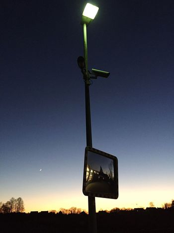 Watch Kamera überwachung Sky No People Clear Sky Night Outdoors Blue