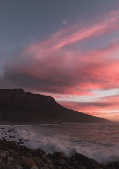 About last night South Africa Cape Town EyeEm Nature Lover EyeEm Selects EyeEm Best Shots Summer Cloud - Sky Sunset Sunset Beauty In Nature Scenics Nature Sky Tranquility Tranquil Scene Water No People Cloud - Sky Sea Outdoors Mountain Horizon Over Water Day