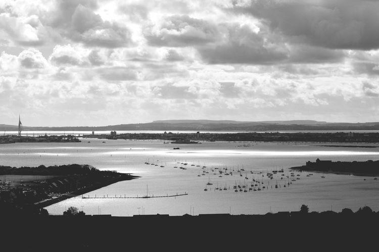 Portsmouth Blackandwhite Clouds EyeEm Best Shots