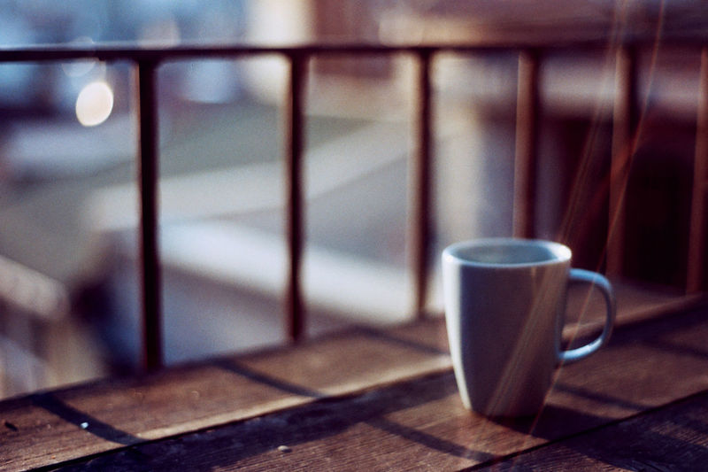 Agfa Agfa Vista200 Analogue Photography Beverage Blur Bokeh Coffee - Drink Coffee Cup Cup Cup Of Coffee EyeEm Gallery EyeEm Team Film Photography Istanbul Morning Coffee Nikon F3 No People Refreshment Saucer Still Life Stock Photography Turkey