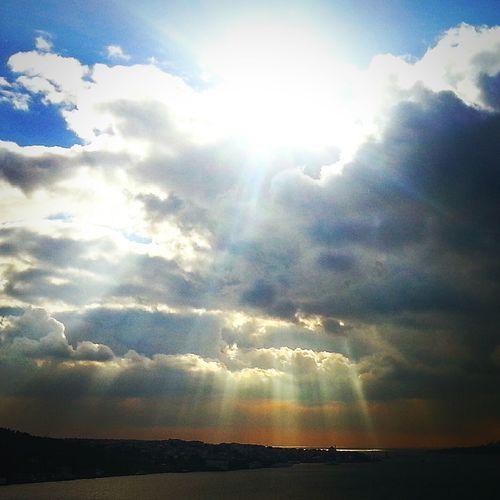 PhotoByMuratGul Bulutlar Clouds Bosphorus Boğaziçi
