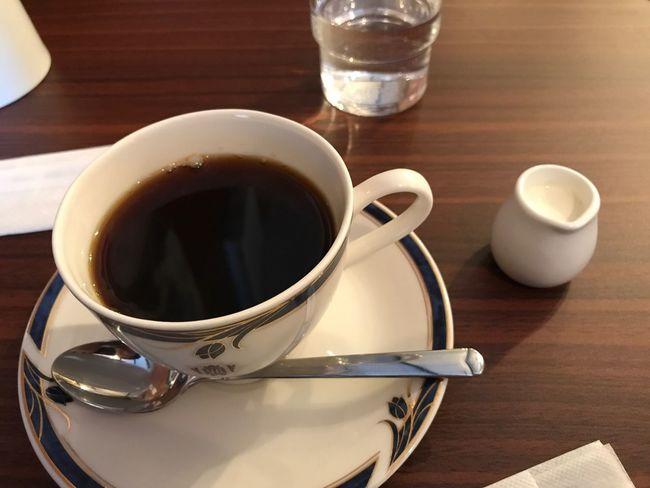 ブレンドコーヒーとミルク
