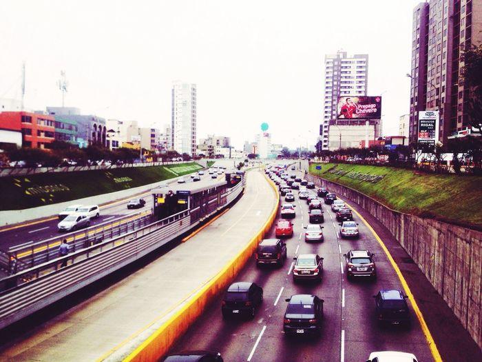 Lima Viaexpresa Transportation City Peru Amorapatria Trabajo Loveforjobs Everisperu Transit