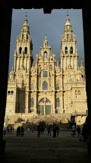Cathedral Santiago De Compostela Religious  My Best Travel Photo Politics And Government City King - Royal Person Clock Face History Sky Architecture Building Exterior Archaeology Temple