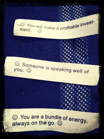 My fortunes ,