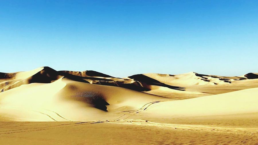 Desert Nature Sand Dune Sand Beauty In Nature Clear Sky EyEmNewHere