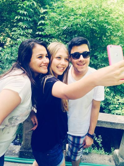 Natural Green Friends Friendship Selfie ✌ Bff L4l Have A Nice Day♥