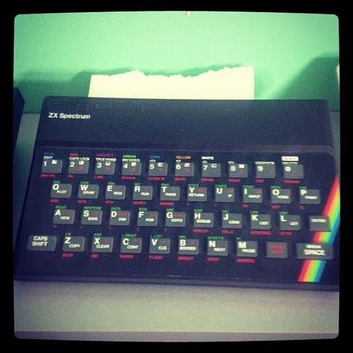 Zxspectrum Vintage Geek Nerd videogame computer