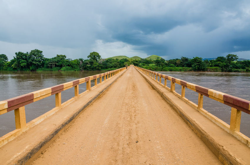 Bridge - Man Made Structure Bridge Congo Congo Brazzaville Congolese Africa Landscape