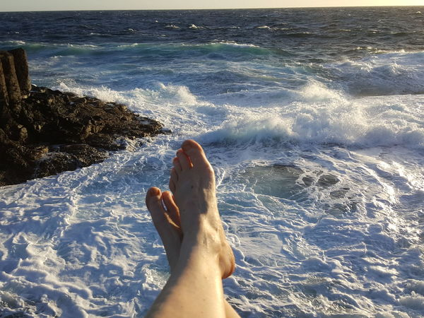 Fuerteventura Sea Above View Holiday Relaxing Barefoot Relaxing Moments Relaxing Time Relaxing Time At The Sea Waves Waves And Rocks Churned Sea Churning Ocean Water Churning Water Churned Ocean