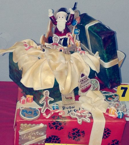 """natale vintage"" ChristmasCake Cakedesign My Creation Art Cake Design!!"