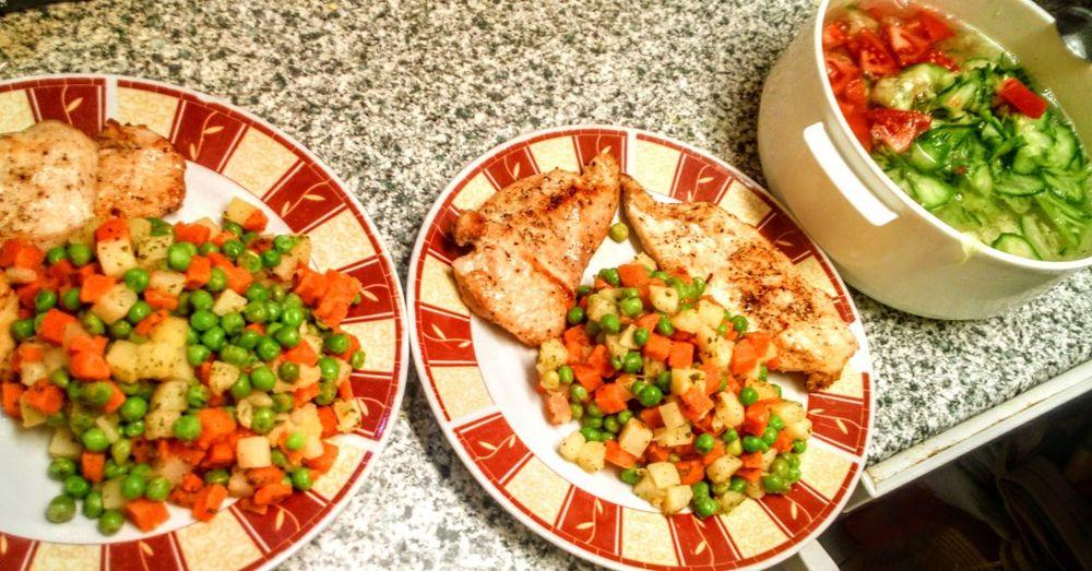dinner Food Vegetable Dinner Serving Dish Table Food And Drink Serving Dish Steamed