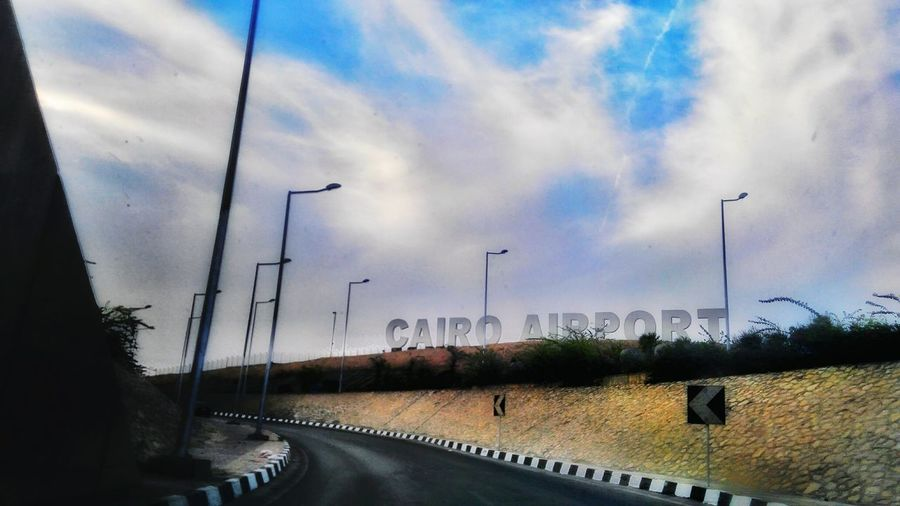 Cloud - Sky Sky Day Outdoors Built Structure No People Architecture Nature This Is Egypt ❤ Travel Destinations Scenics City Arts Culture And Entertainment Cairo Egypt Airportphotography Architecture Urban Skyline Growth Industry