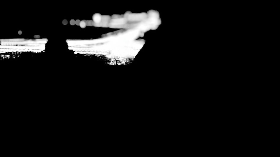 Dark Lights Night Black And White Black Background No People Street City Mobile Photography Phone Photography Traffic Small Detail Lifetime Torino Turin Italy Relax
