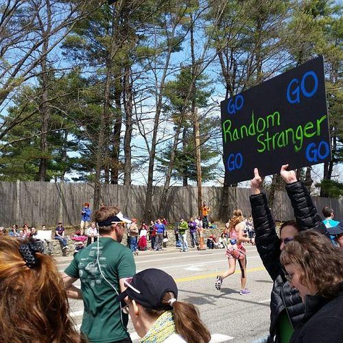 Best Marathon Sign WeRunTogether Bostonstrong
