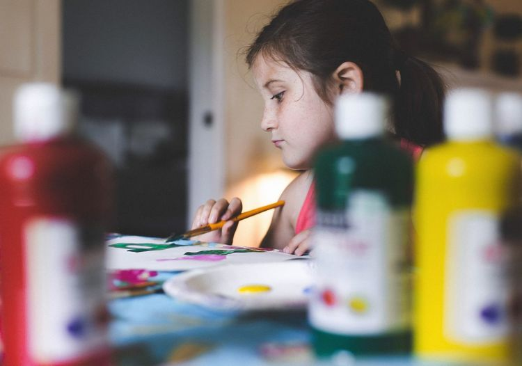"""I only feel alive when I am painting."" Open Edit Painting Art Artist Kids Creative Art, Drawing, Creativity"