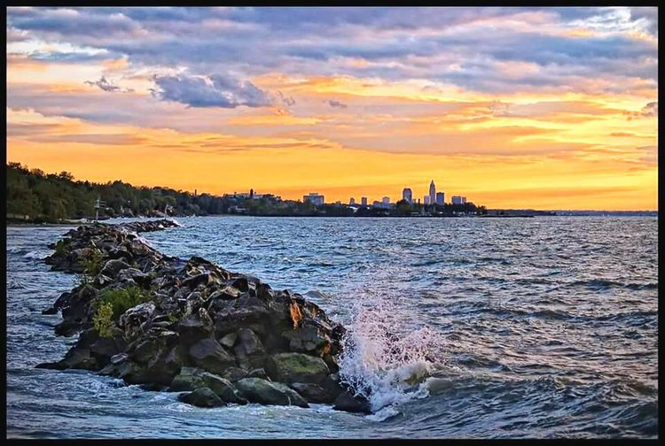 Cityscapes Cleveland Metroparks Clevelandohio Sunset