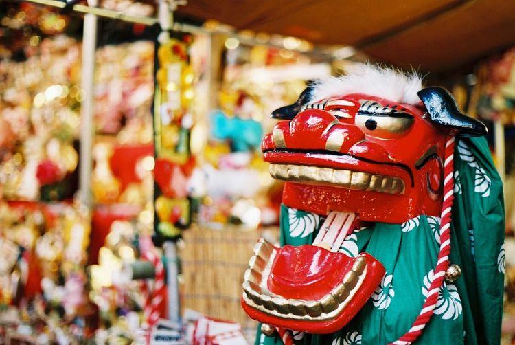 いつの間か写真が売れていたみたい、、だけどどうすればいいのかわからない。 Film Photography Hanazono Shrine 酉の市