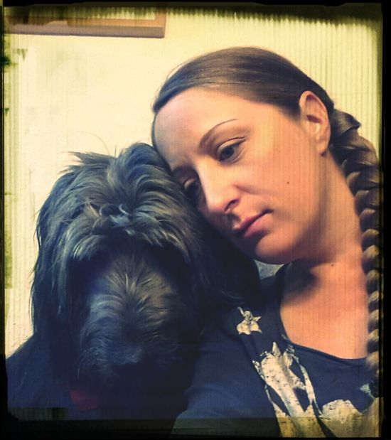 Tired Home I Love My Dog One Thing I Can't Live Without