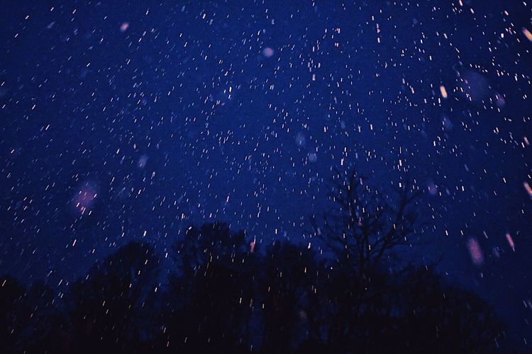 Snow Night Low Angle View Shades Of Winter Beauty In Nature Outdoors Nature