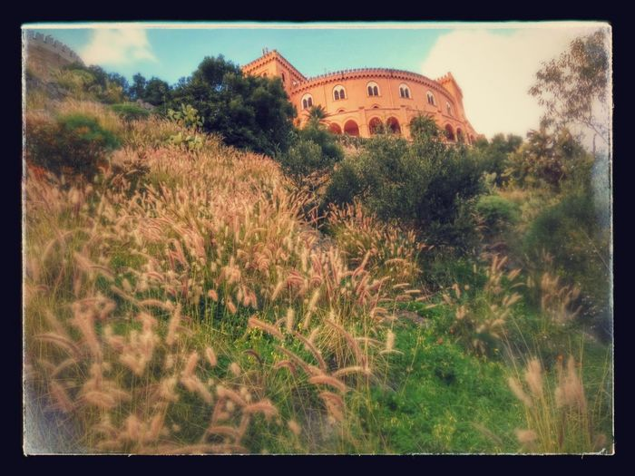 Palermo Castello Utveggio Monte Pellegrino