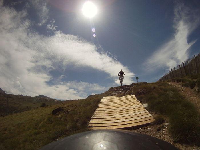 One Person Adults Only Adventure Vacations Nature Outdoors Descenso BTT MTB Ciclismo De Montaña Mountainbike Montañas❤ Downhill Vidaactiva Sports Andorra Pirineos Ilikeit Disfrutando  Adrenalina Riesgo Jump Bicicleta Enjoy Deporte