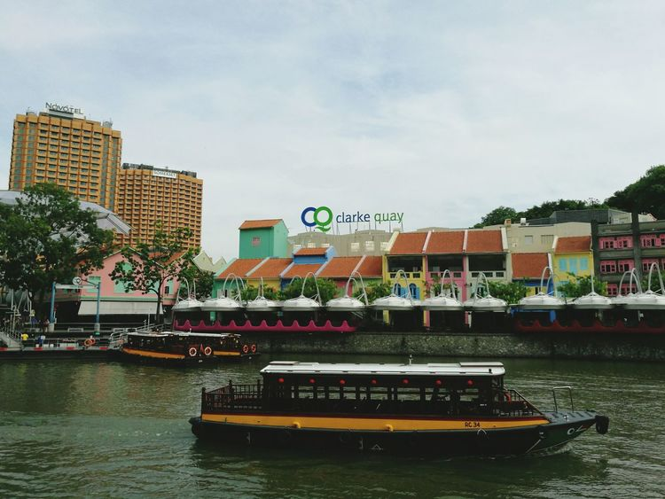 Tourboat Transportation Sky City Water Architecture