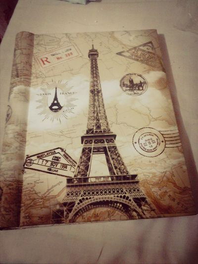 A gift for my friend who is so obsessed about the eiffel tower :-)
