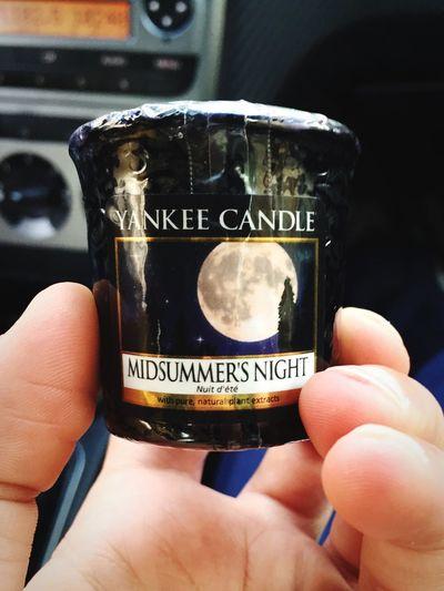 Candle Candela Yankee Candle Nuovoacquisto