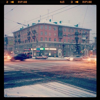 омск выставкаомск сибирь утро Morning Siberya Coldautumn