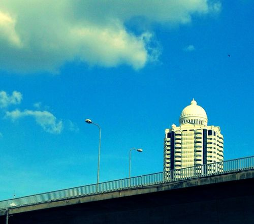 Architecture City Built Structure No People Outdoors Day Sky Road And Bridge Building Building Exterior On The Way On The Road City Travel Destinations The Architect - 2017 EyeEm Awards The Week On EyeEm