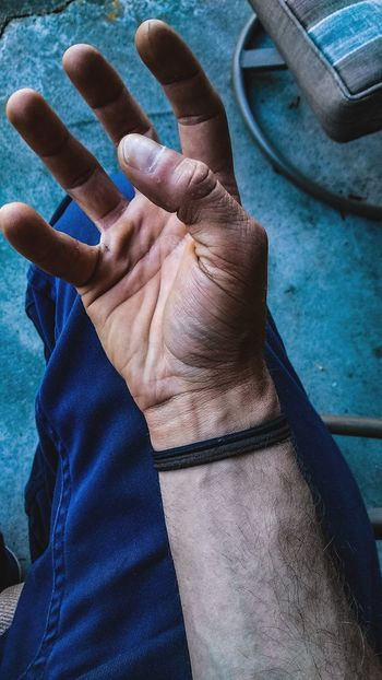 EyeEm Selects Human Hand Human Body Part High Angle View One Person Indoors  Adult Close-up People One Man Only Adults Only Day Only Men