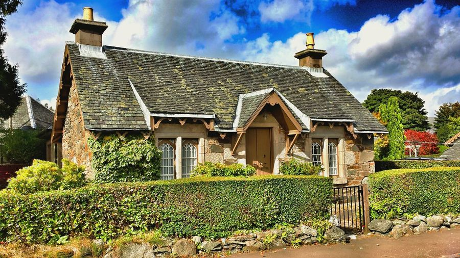 Picturesque Cottage Village Life