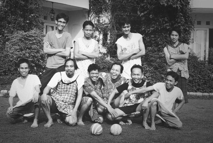 Football Game Soccer Team  Blackandwhite Photography Streetphoto_bw