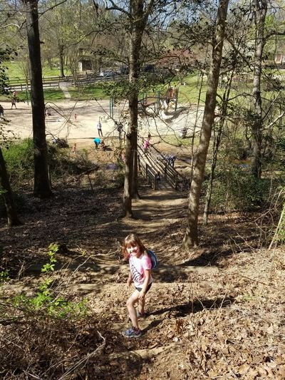 Cheese! Taking Photos Nature Trail Josie ❤ Family Time My Daughter ❤️ Walking Around Glen Hilton Park Springtime Beautiful Day Enjoying Life