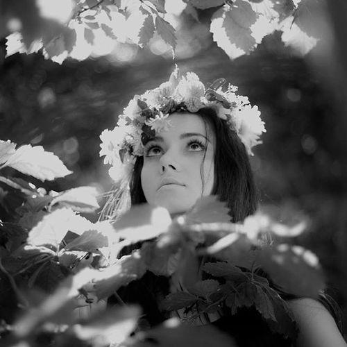 Probel Bwphoto Priroda Girl Beautiful Nature Photography