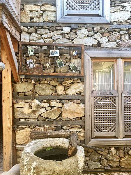 İbradı Güncesi - Fsn® Photography Woodenhouse Voyager Gezgin Seyyah Family Vintage Geçmiştenkareler Architecture Stone Material Built Structure Wood - Material Building Exterior Rustic House Window Outdoors No People Residential Building Close-up Day