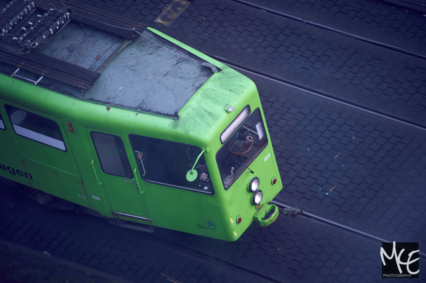 Old maintenance car spotted in Hannover Day Green Color Hannover No People Outdoors Straßenbahn Tram Uestra