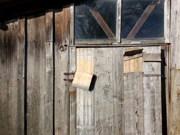 door of a shed Abandoned Damaged Door Old Schuppen Schuppenflechte Shed Shed Your Skin Monday.... Sheds Verschlag Wood