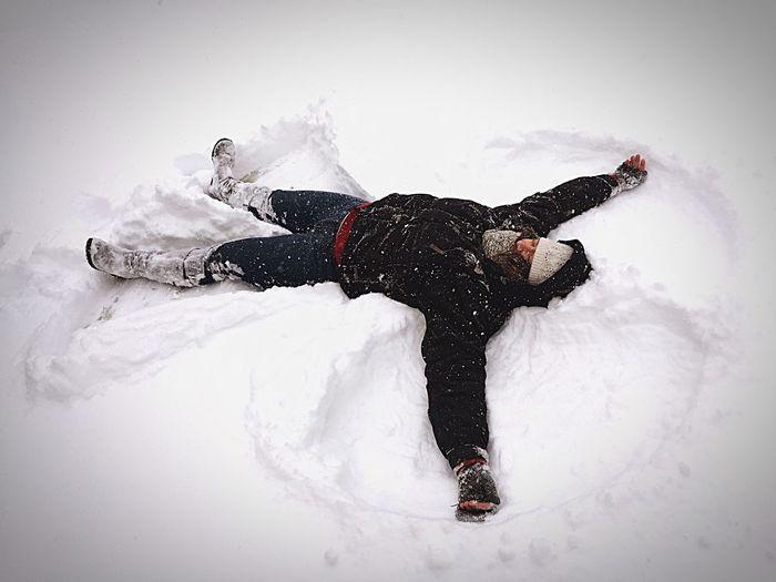 Snow Snowday Snowangel The Human Condition Peace And Quiet Winter Wonderland Winter