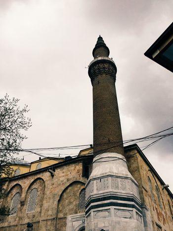 Taking Photos Praying Historical Building Mosque Ottoman