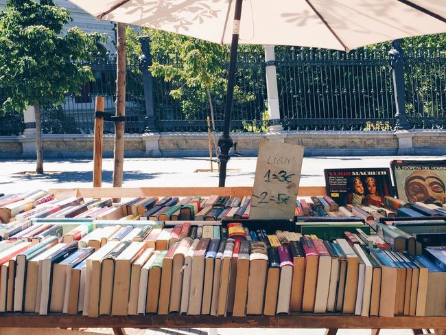 Fleamarket Flea Markets Flea Market Flea Market Finds Madrid SPAIN Spanish Business Life Business Authors Text Store Shop Bookstore Booklover Local Market Street Life Vintage Shopping Bookstores Streetphoto Capital Cities  Capital City City Street